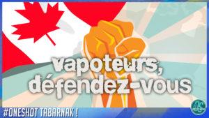#ONESHOT QUEBEC 003 - Juul sort de VITA - Manifestation CDVQ, une fausse bonne idée?
