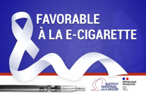 L'Institut National du Cancer favorable à la e-cigarette